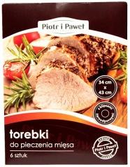 Torebki do pieczenia mięsa Piotr i Paweł
