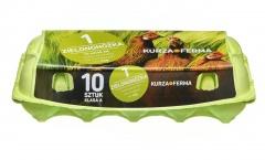 Jaja od zielononóżki 10 sztuk