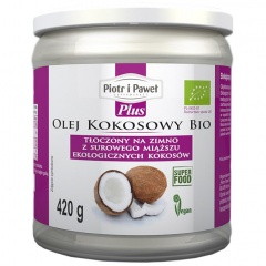 Olej kokosowy tłoczony na zimno bio