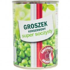 Groszek konserwowy super soczysty