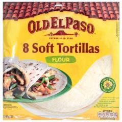Placki mączne tortilla.