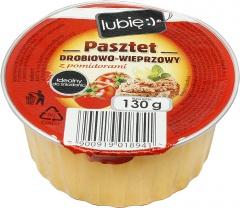 Pasztet drobiowo-wieprzowy z pomidorem - lubię:)