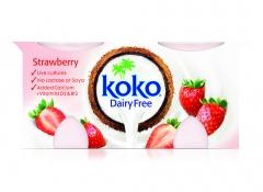 Krem bezmleczny Koko Dairy free truskawka