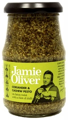Pesto z kolendrą i orzechami nerkowca Jamie Oliver