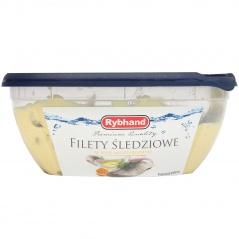 Filet śledziowy w sosie musztardowym/250g