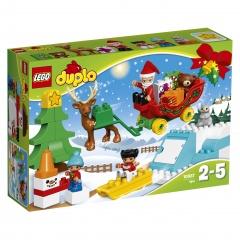 Lego zimowe ferie mikołaja 10837