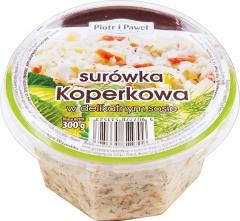 Surówka Piotr i Paweł Koperkowa w delikatnym sosie