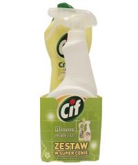 Cif spray kuchnia 500ml + cif mleczko lemon 700 ml