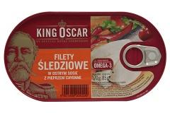 Filety śledziowe w Sosie cayenne