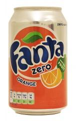 Fanta Orange zero puszka 0,33l