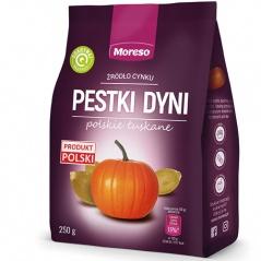 Polskie pestki dyni łuskane Moreso