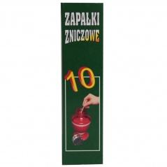 Zapałki zniczowe zz-10 9,5cm