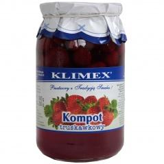 Kompot truskawkowy Klimex