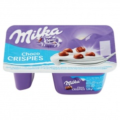 Jogurt milka crispies