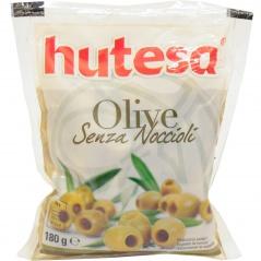 Oliwki zielone drylowane Hutesa w woreczku