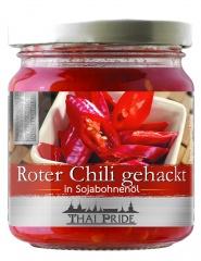 Chili siekane czerwone w oleju sojowym