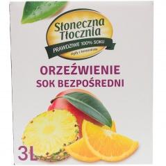 Sok NFC 100% orzeźwienie jabłko pomarańcza ananas i mango
