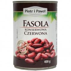 Piotr i Paweł - fasola czerwona konserwowa jednolita