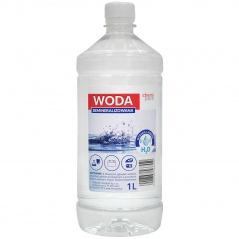Woda demineralizowana 1l.