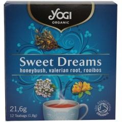 Ajurwedyjska herbatka na dobry sen (12x1,8g) - yogi organic