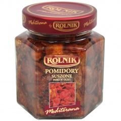 Pomidory suszone w oleju paski