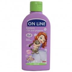 Żel pod prysznic i szampon 2w1 on line disney sofia