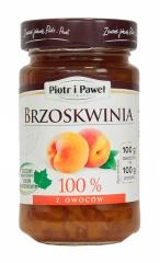 100% z brzoskwiń produkt owocowy słodzony zag.sokiem winogronowym