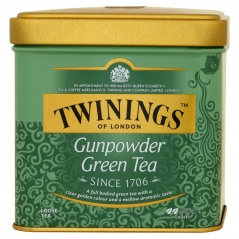 Herbata Twinings zielona Gunpowder puszka