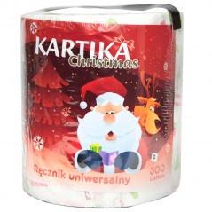 Ręcznik papierowy kartika christmas.