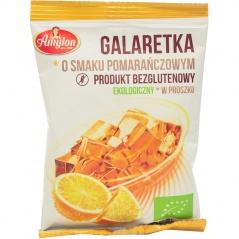 Galaretka o smaku pomarańczowym bio- amylon