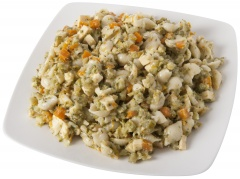 Sałatka wegetariańska z dynią kuchnia polki