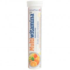 Tabletki musujące multiwitamina z minerałami