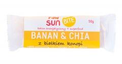 Baton energetyczny banan&chia