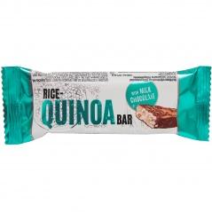 Baton Rice-Quinoa Bar oblany mleczną czekoladą
