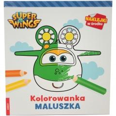 """ Super Wings "" - kolorowanka maluszka"