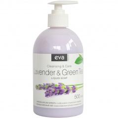 Mydło w płynie Eva natura kremowe lawenda & zielona herbata