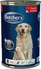 Butcher's mięsne kawałki w sosie z dziczyzną i wołowiną dla psa