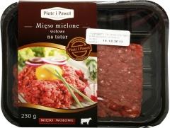 Mięso mielone wołowe na tatar