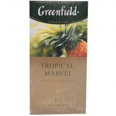 Herbata greenfield zielona tropical marvel.