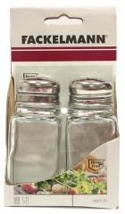 Zestaw solniczka + pieprzniczka