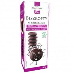 Biszkopty w czekoladzie bezglutenowe