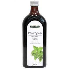 Premium Rosa sok z pokrzywy