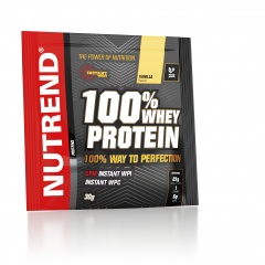100% whey protein wanilia