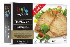 Tuńczyk steki Myfood
