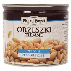 Orzeszki ziemne prażone bez soli i oleju Piotr i Paweł