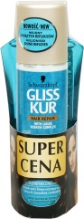 Gliss kur szampon 250ml+odżywka million gloss