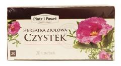 Herbatka ziołowa Czystek Piotr i Paweł