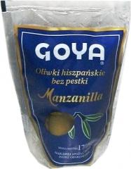 Oliwki Goya zielone drylowane