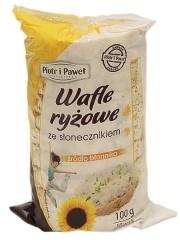 Wafle ryżowe ze słonecznikiem - Piotr i Paweł