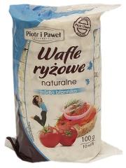 Wafle ryżowe naturalne - Piotr i Paweł